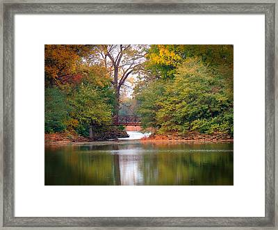 Fall Adventure Framed Print by Teresa Schomig