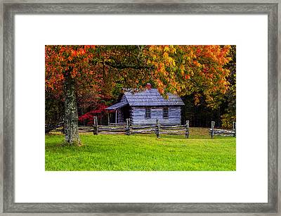 Framed Framed Print by Anthony Heflin
