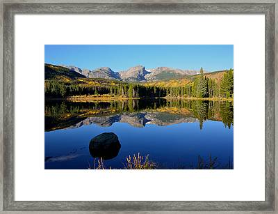 Fall At Sprague Lake Framed Print by Tranquil Light  Photography