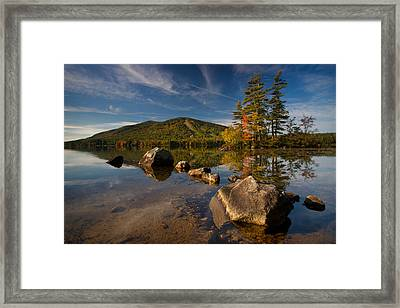 Fall At The Mountain Framed Print by Darylann Leonard Photography