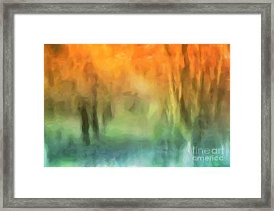 Fall Colors Framed Print by John Edwards