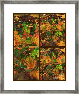 Fall Harvest Framed Print by Cindy McClung