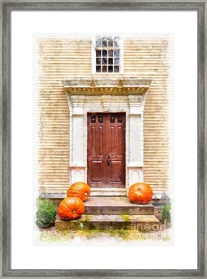 Fall Harvest Framed Print by Edward Fielding