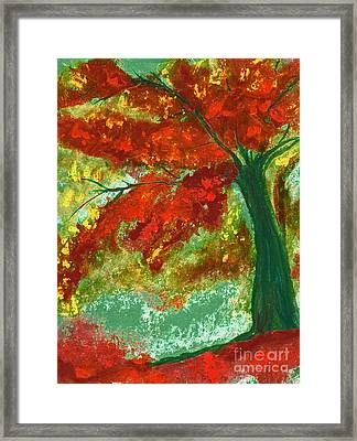 Fall Impression By Jrr Framed Print by First Star Art