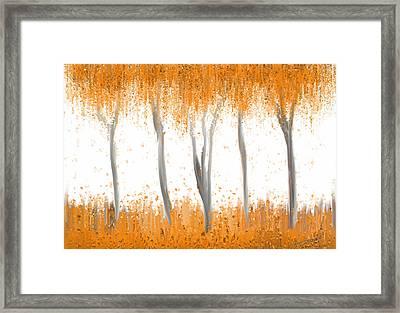 Fall Framed Print by Kume Bryant