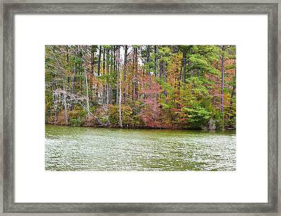 Fall Landscape 2 Framed Print by Lanjee Chee
