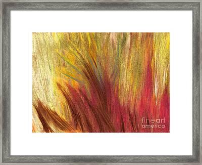 Fall Prairie Grass By Jrr Framed Print by First Star Art