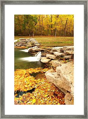 Fall Serenity Framed Print by Gregory Ballos