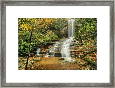 Fall Water Framed Print by Doug McPherson