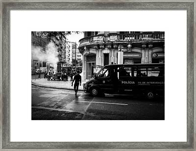 Fallacy Framed Print by Pace Freeman