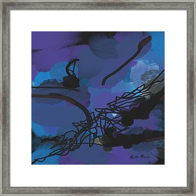 Fallen Ballerina Framed Print by Kristie Mercer