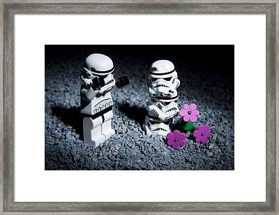 Fallen Friends Framed Print by Samuel Whitton