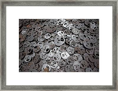 Fallen Leaves Framed Print by Thomas Glover