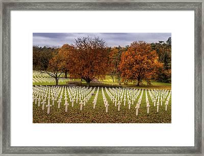 Fallen Soldiers Framed Print by Ryan Wyckoff
