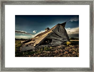 Fallen Framed Print by Thomas Zimmerman