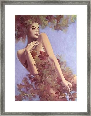 Fall...in Love... Framed Print by Dorina  Costras