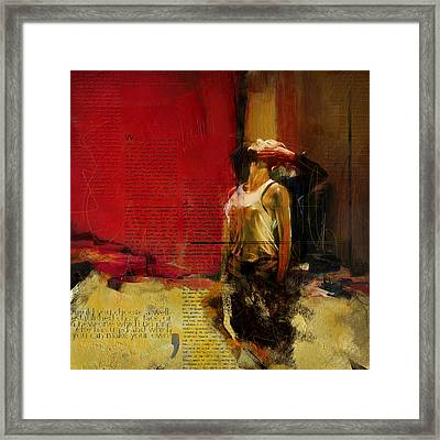 Falling In Love Framed Print by Corporate Art Task Force