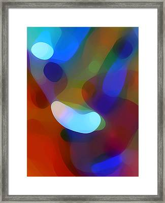 Falling Light Framed Print by Amy Vangsgard