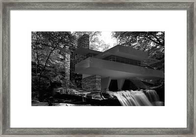 Falling Waters Framed Print by Louis Ferreira