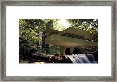 Fallingwaters Framed Print by Louis Ferreira