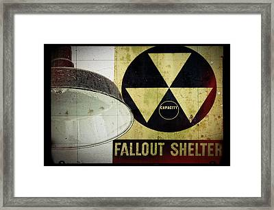 Fallout Framed Print by Niels Nielsen