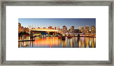 False Creek Framed Print by Dan Breckwoldt