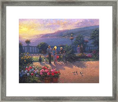 Family Friendly  Framed Print by Ghambaro