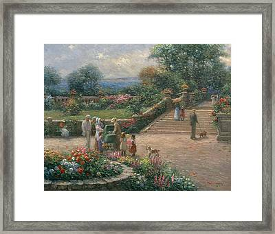 Family Framed Print by Ghambaro