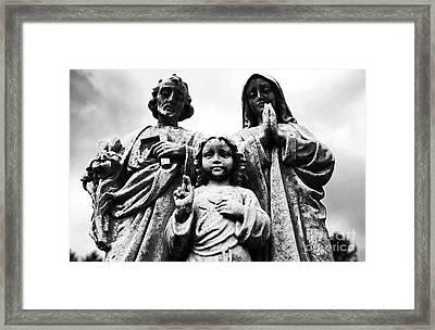 Family Framed Print by John Rizzuto