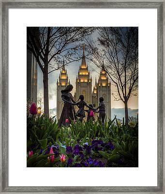 Family Framed Print by Nick  Cardona