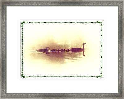 Family Outing Framed Print by Bill Cannon