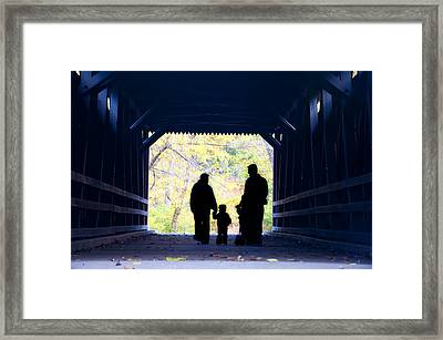 Family Time Framed Print by Bill Cannon