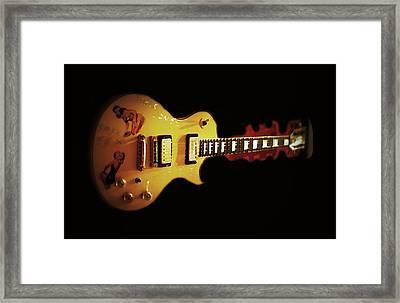Famous Guitar Framed Print by Patricia Januszkiewicz