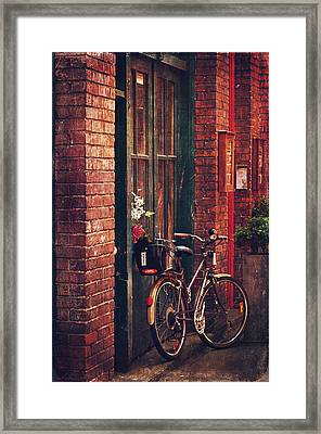 Fan Tan Alley Framed Print by Maria Angelica Maira