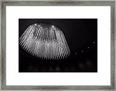 Fancy Chandelier Framed Print by Dan Sproul