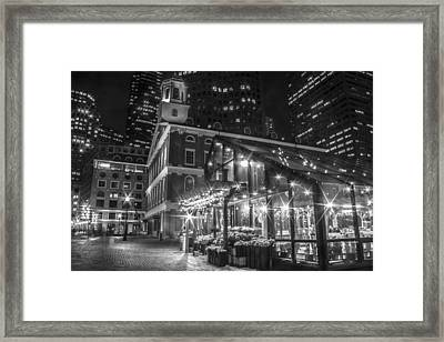 Faneuil Hall And Nursery  Framed Print by John McGraw