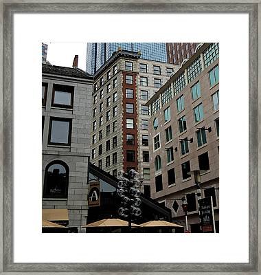 Faneuil Hall Boston Framed Print by Mim White