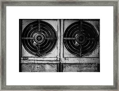 Fans Framed Print by Dean Harte