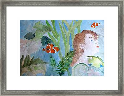 Fantasia 1 Framed Print by Sandy McIntire
