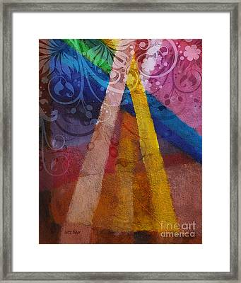 Fantasia Iv Framed Print by Lutz Baar
