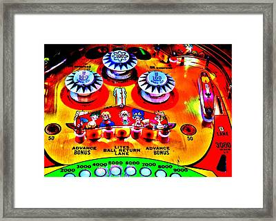 Fantastic Playfield Framed Print by Benjamin Yeager