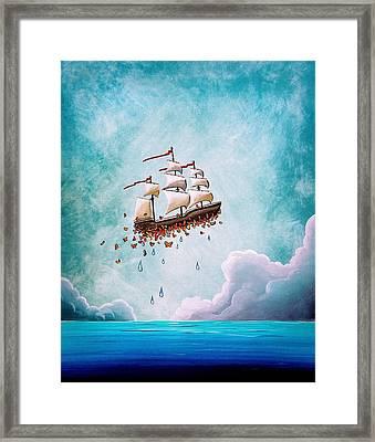 Fantastic Voyage Framed Print by Cindy Thornton