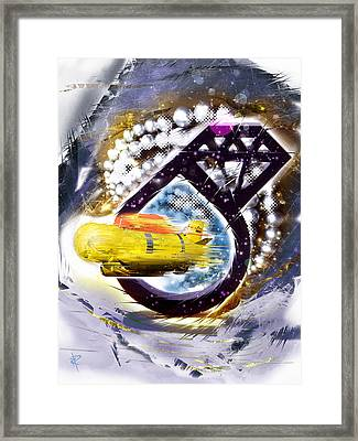 Fantastic Voyage Framed Print by Russell Pierce