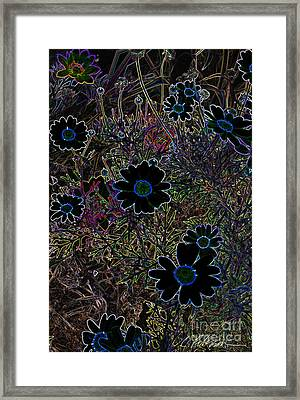 Fantasy Garden No. 2 Framed Print by Cathy Peterson