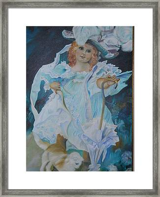 Fantasy Framed Print by Joyce Reid