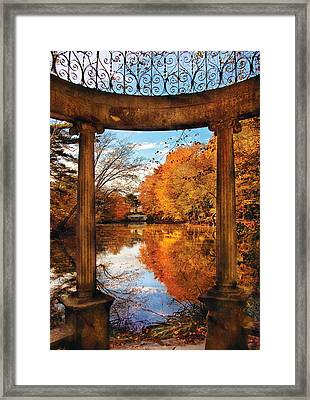 Fantasy - Paradise Waits Framed Print by Mike Savad