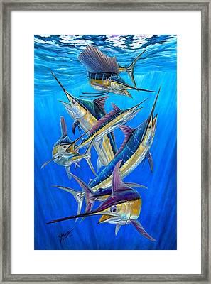 Fantasy Slam Framed Print by Terry Fox