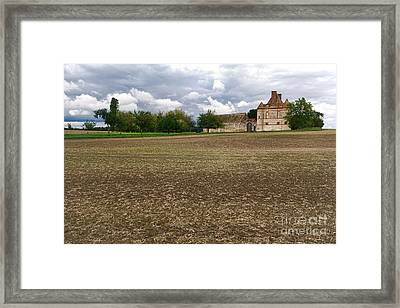 Farm Castle Framed Print by Olivier Le Queinec