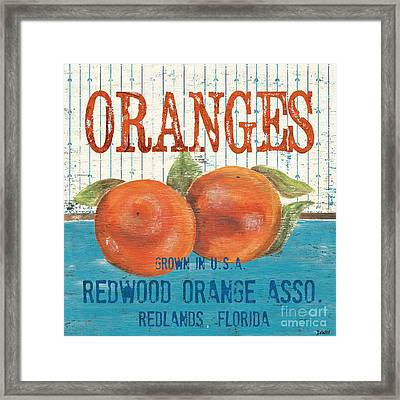 Farm Fresh Fruit 2 Framed Print by Debbie DeWitt
