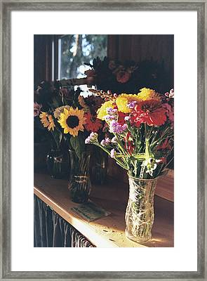 Farm Stand Framed Print by Caitlyn  Grasso